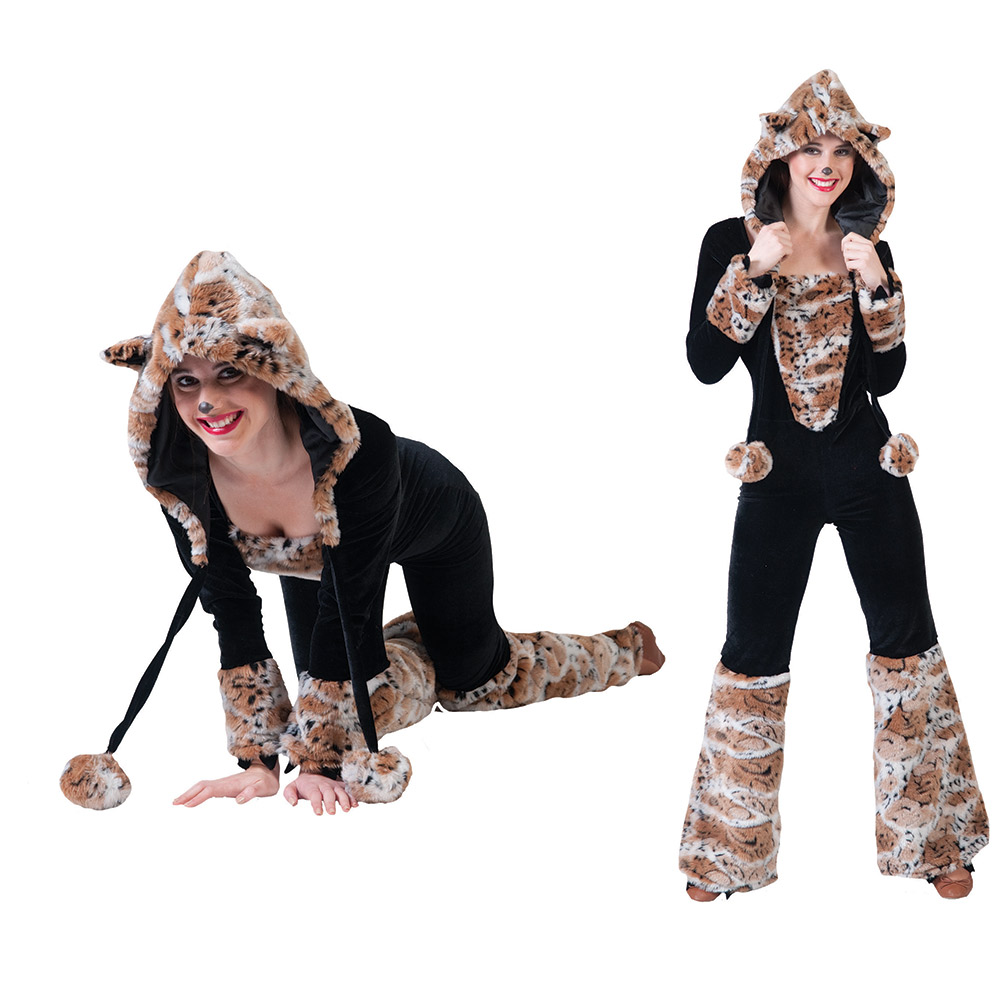 kost m schneeleopard overall damen schneeleoparden kost m 32 34 36 38 40 42 ebay. Black Bedroom Furniture Sets. Home Design Ideas