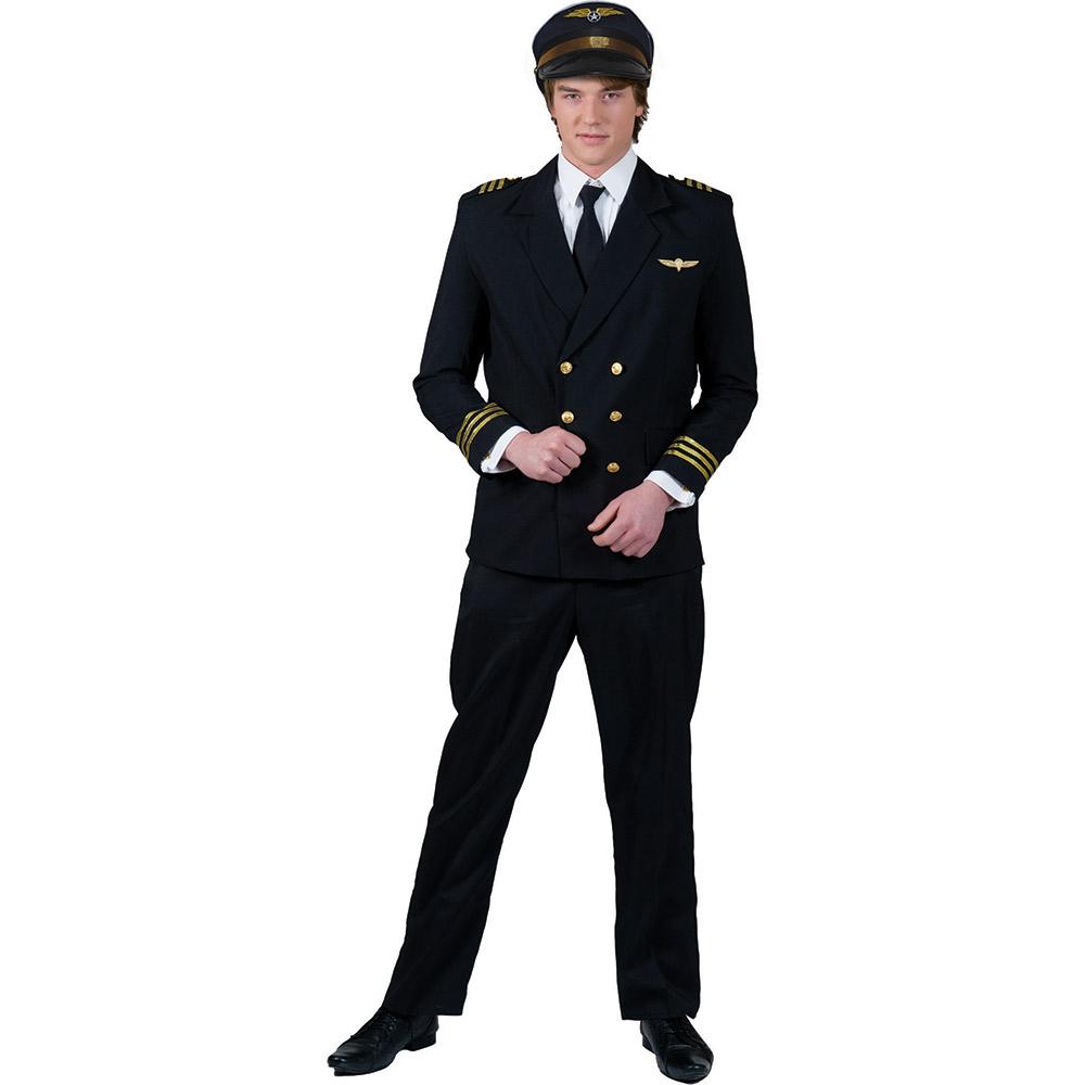 piloten kost m herren uniform pilot airline jacket karneval 48 50 52 54 56 58 ebay. Black Bedroom Furniture Sets. Home Design Ideas