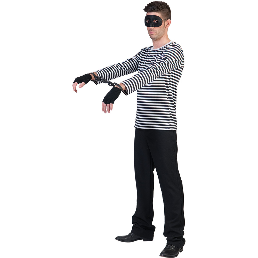 ringel shirt schwarz wei f r kost m clown pirat str fling neu von gr e 44 62 ebay. Black Bedroom Furniture Sets. Home Design Ideas