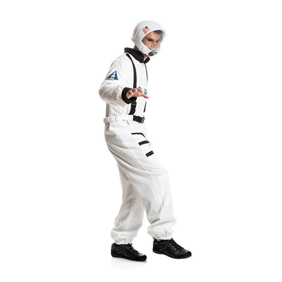 astronautenkost m astronauten kost m astronaut overall herren weltraum s m l xl. Black Bedroom Furniture Sets. Home Design Ideas