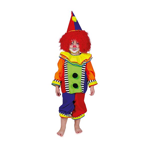 Clown kost m kinder clownskost m kinderkost m gr 98 104 ebay - Clown schminken bilder ...