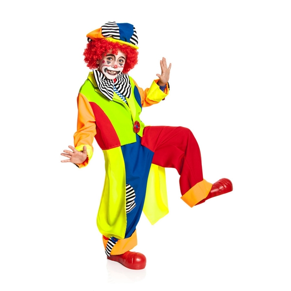 clownkost m till kinder clown kost m. Black Bedroom Furniture Sets. Home Design Ideas