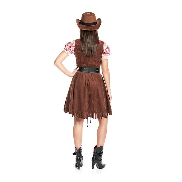 cowgirl kost m emily cowgirlkost m damen. Black Bedroom Furniture Sets. Home Design Ideas