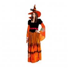 Hexen Kostüm Helaine mit Hut für Damen