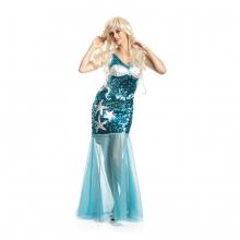 Meerjungfrauen Kostüm Susi für Damen