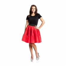 petticoat t ll rock pink mit gummiband und t ll. Black Bedroom Furniture Sets. Home Design Ideas