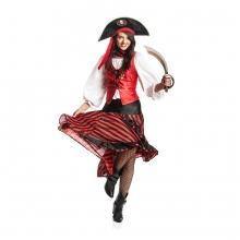 Sexy Piratin Emy Kostüm Damen Piratinkostüm