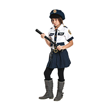 Polizistin Kostüm Jolie für Mädchen