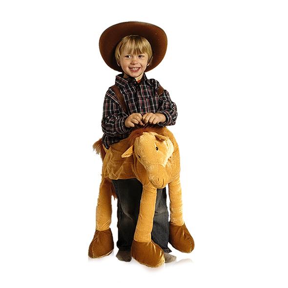 reit pferd kinder cowboy kost m pferdekost m lustiges reitpferd kinder karneval ebay. Black Bedroom Furniture Sets. Home Design Ideas