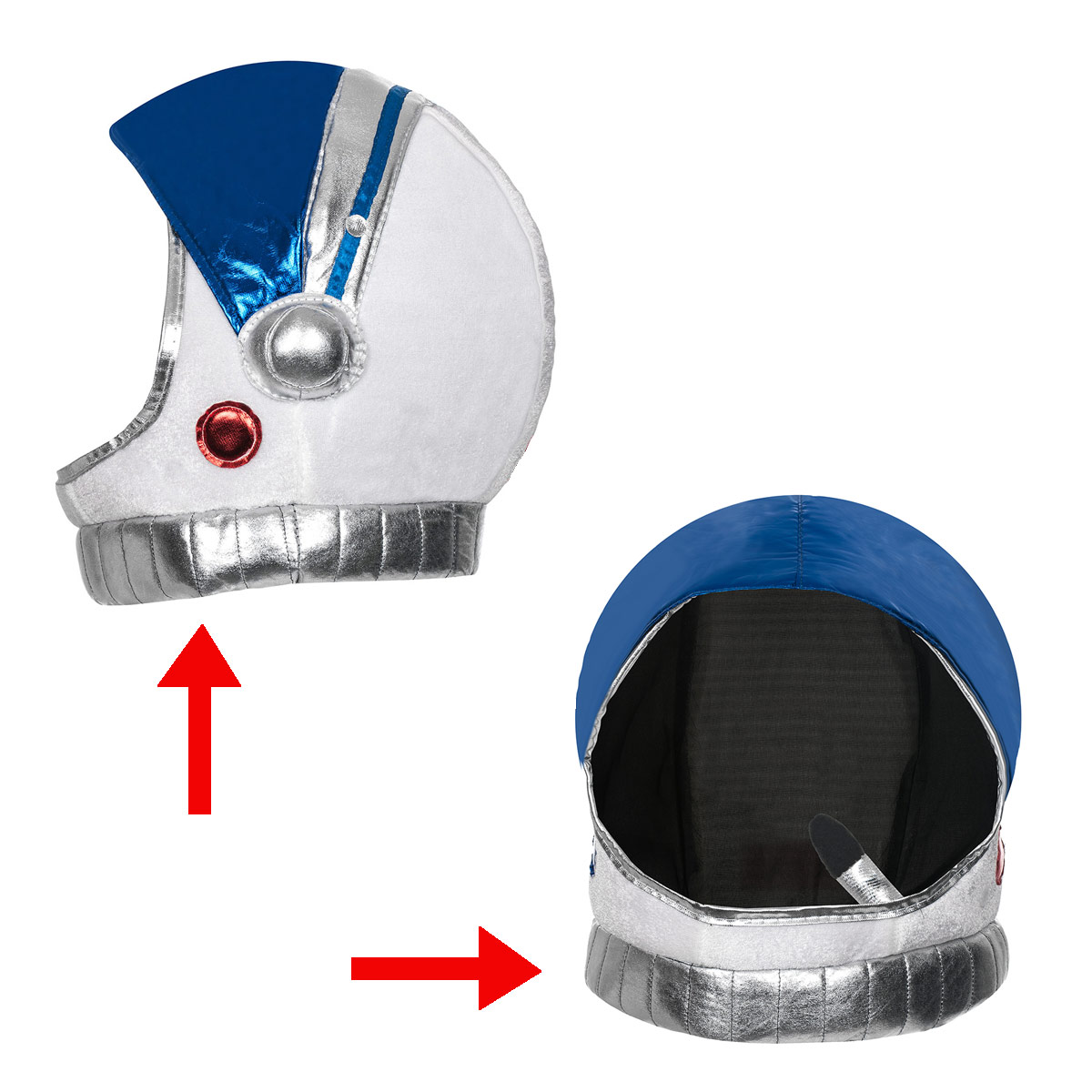 astronautenhelm deluxe kinder kost m accessoire. Black Bedroom Furniture Sets. Home Design Ideas
