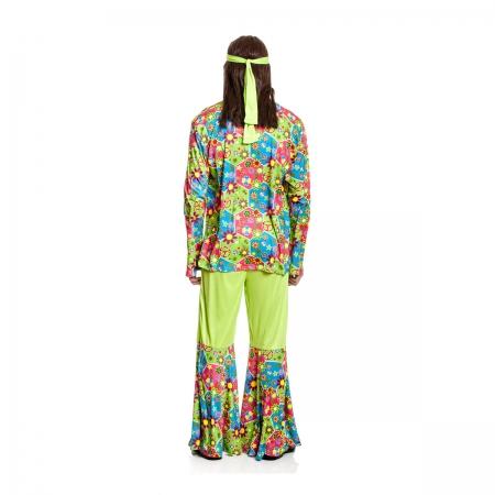 Hippie Kostu00fcm Herren 60er Jahre Outfit Flower Power | Kostu00fcmplanetu00ae