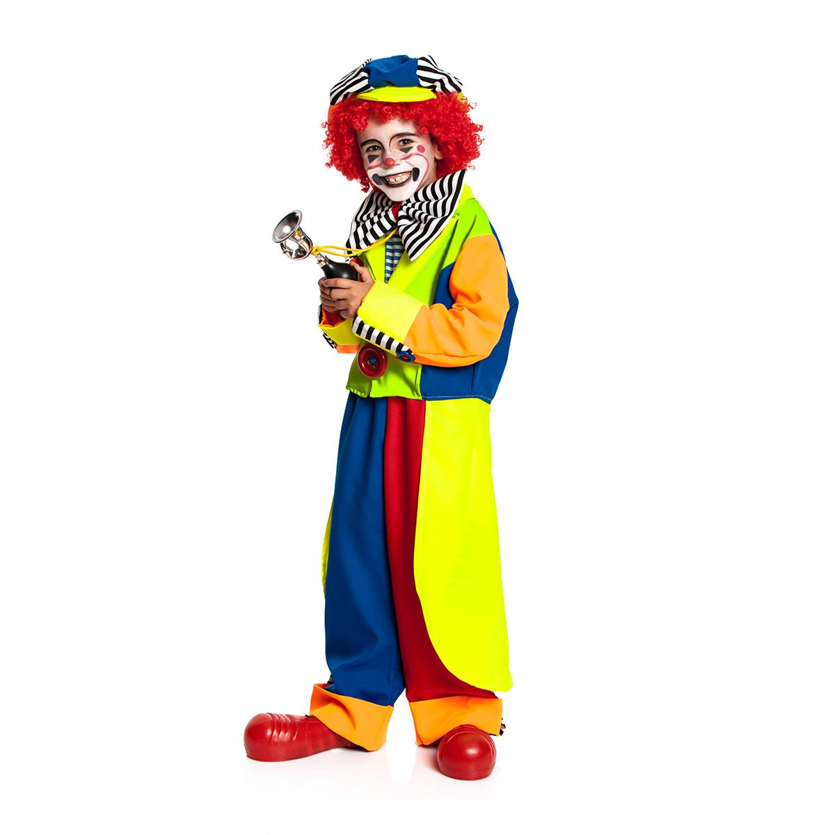clown kost m kinder jungen mit m tze komplett kost mplanet. Black Bedroom Furniture Sets. Home Design Ideas