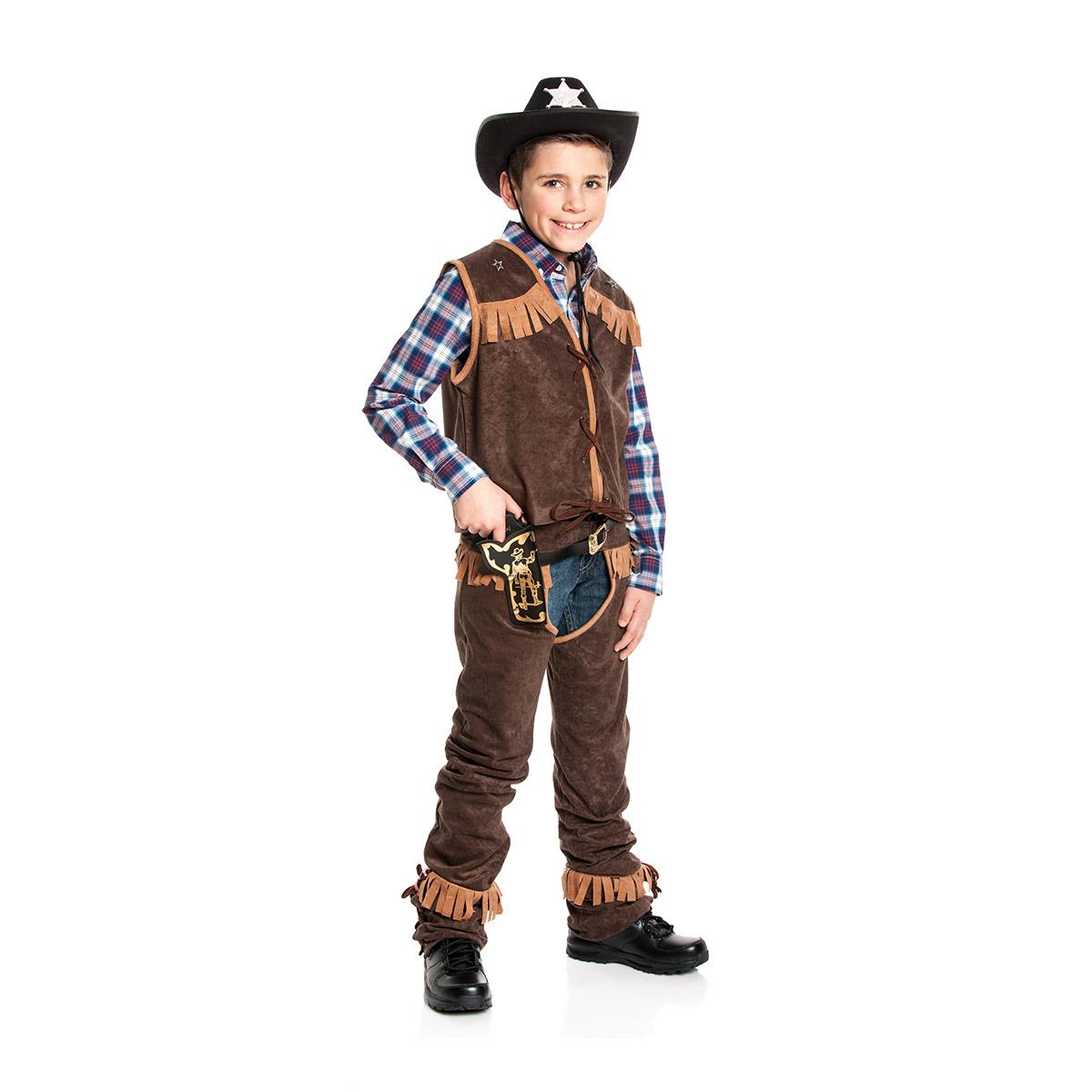cowboy kost m kinder jungen karnevalskost m western. Black Bedroom Furniture Sets. Home Design Ideas
