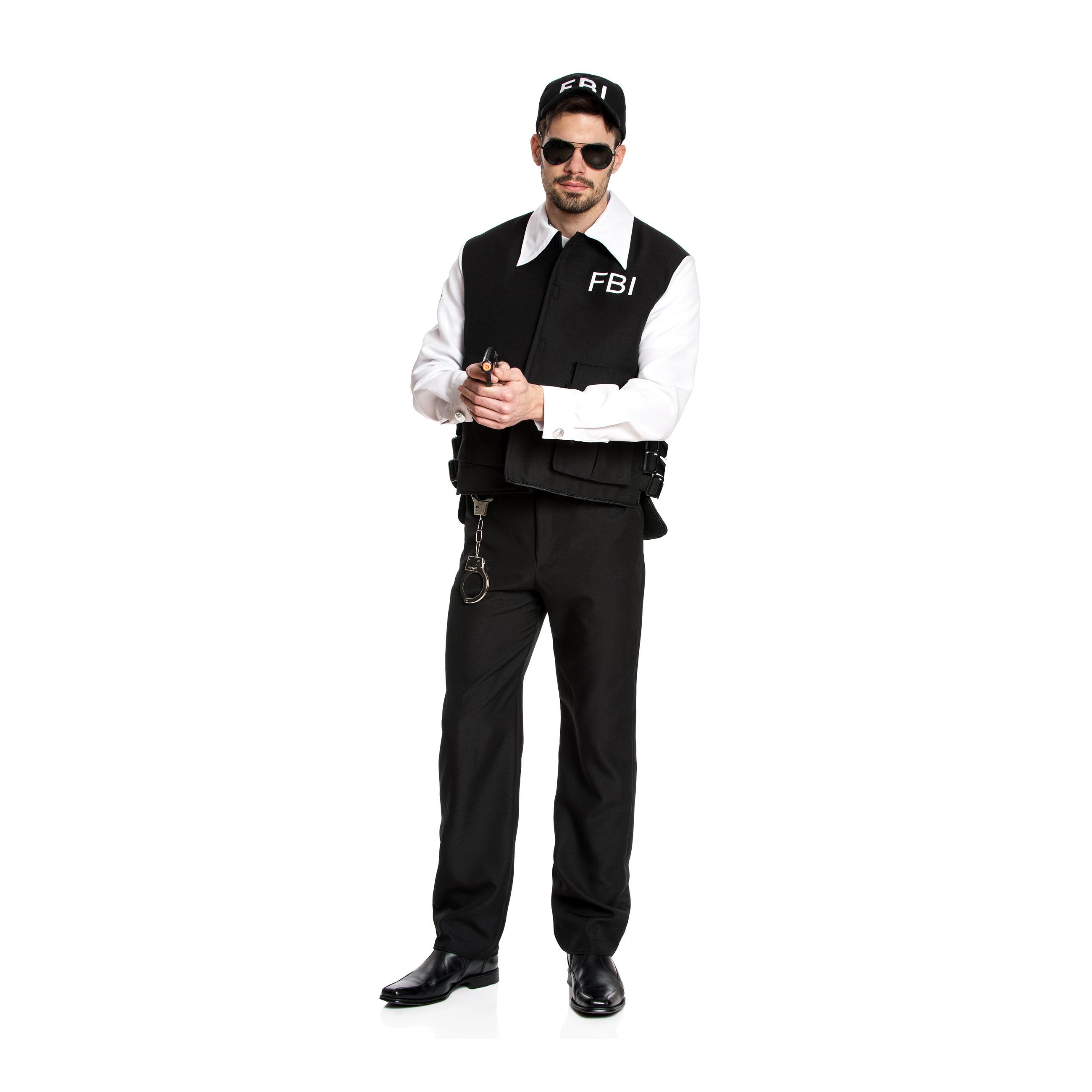 fbi kost m herren komplette uniform cap kost mplanet. Black Bedroom Furniture Sets. Home Design Ideas