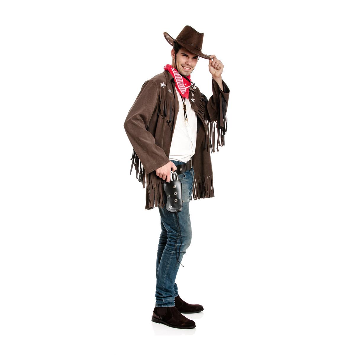 cowboy jacke herren mit halstuch g nstiges kost m kost mplanet. Black Bedroom Furniture Sets. Home Design Ideas