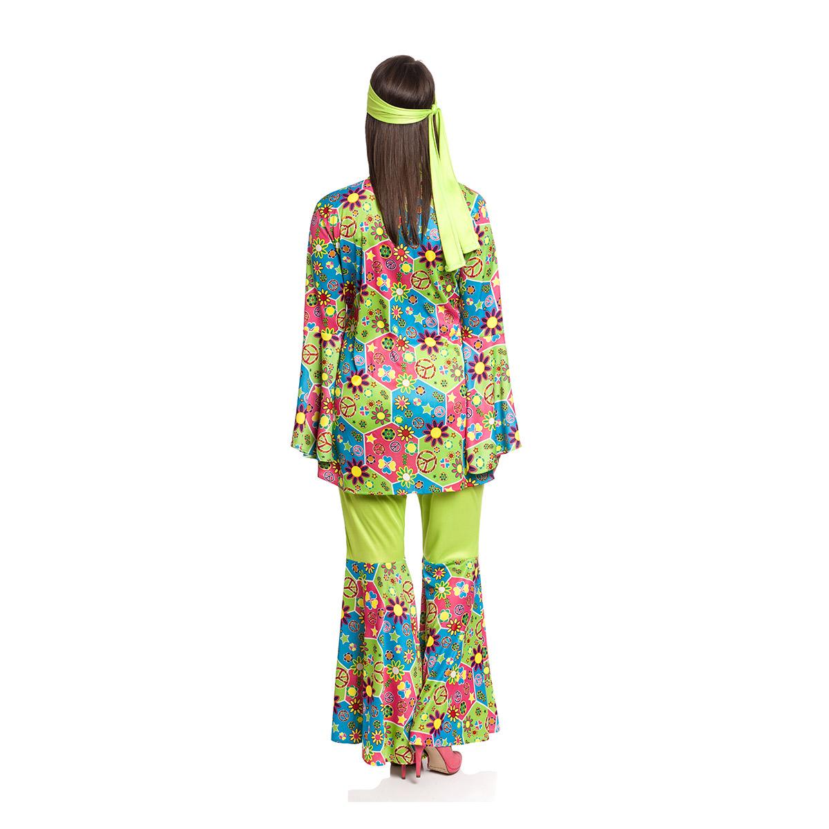 Hippie Kostu00fcm Damen bunte Flower Power 60er Jahre | Kostu00fcmplanetu00ae