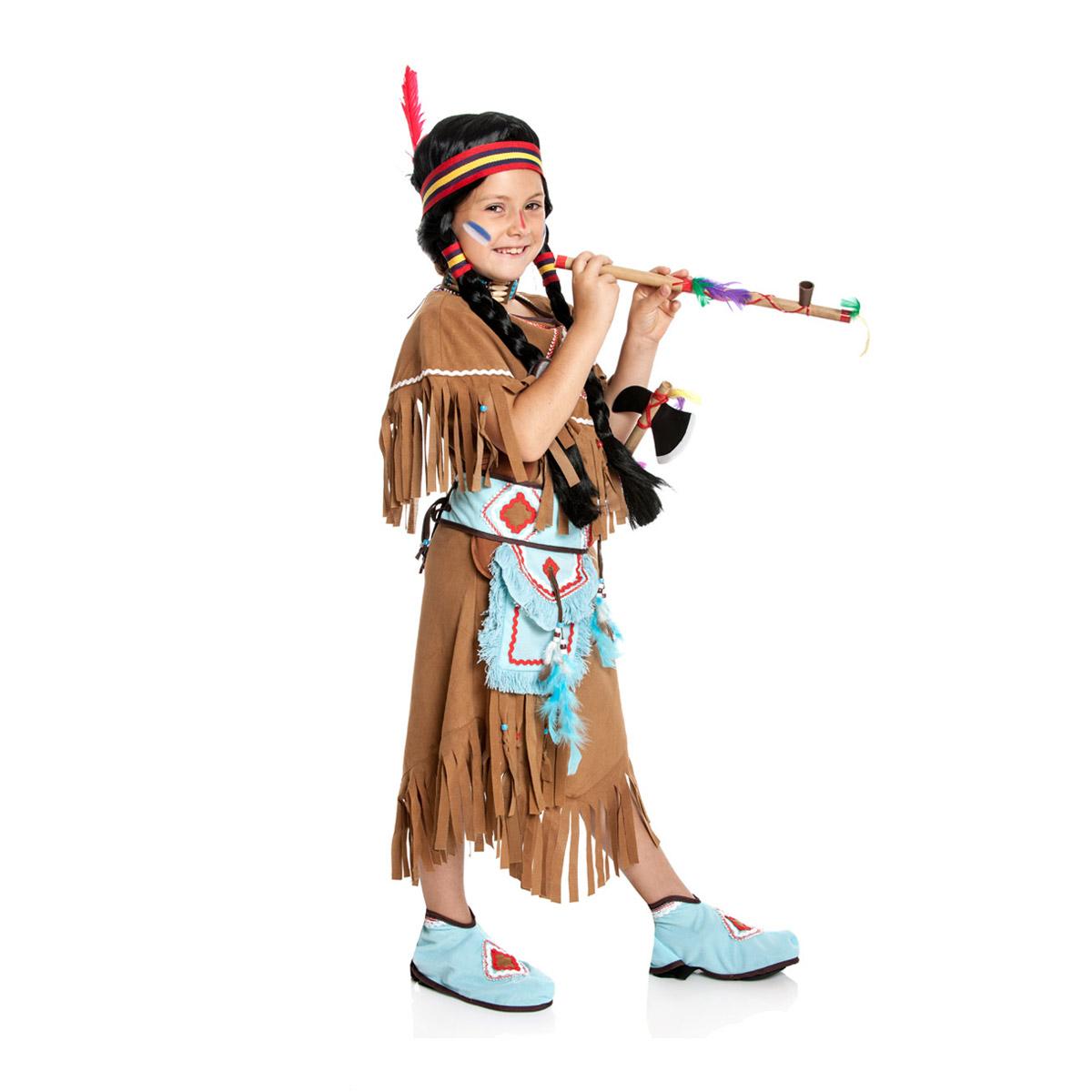 Kostumplanet Indianerin Kostum Kinder Indianer Kostum Madchen Grosse 104