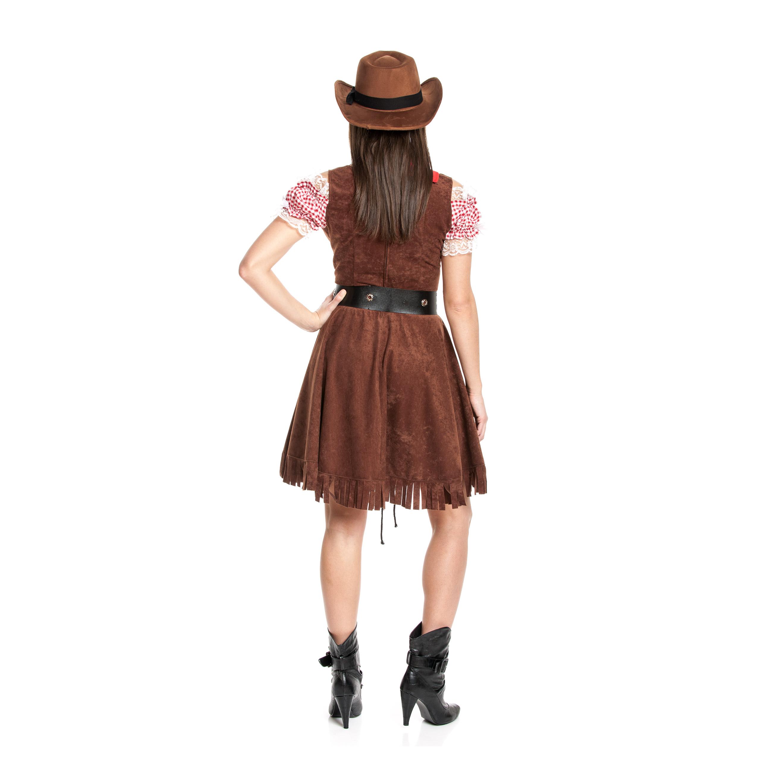 cowgirl kost m damen sexy cowboy komplett mit halstuch kost mplanet. Black Bedroom Furniture Sets. Home Design Ideas