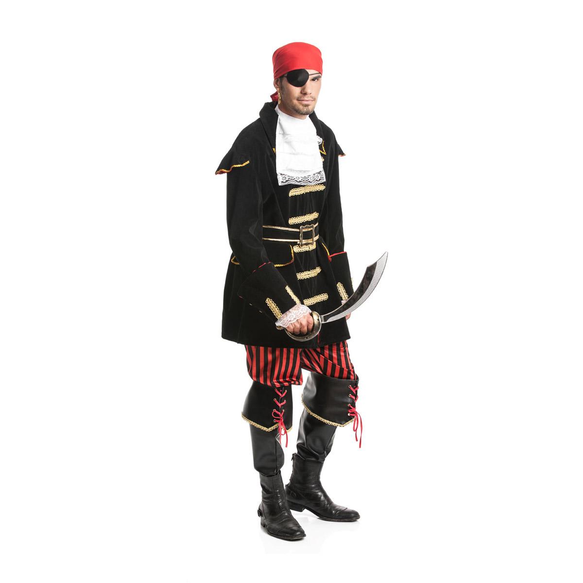 piraten kost m herren 6 teilig komplett mit stulpen kost mplanet. Black Bedroom Furniture Sets. Home Design Ideas