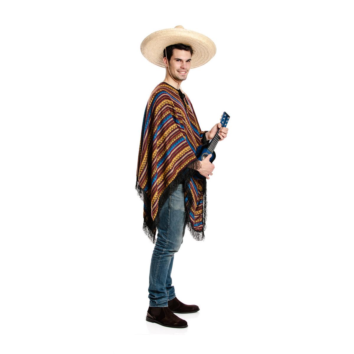 poncho mexikaner kost m herren bequem verkleidet kost mplanet. Black Bedroom Furniture Sets. Home Design Ideas
