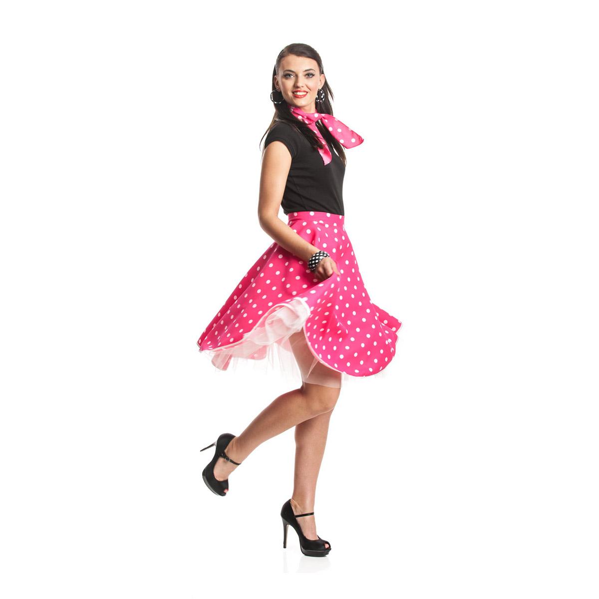 Rock n roll rock damen pink - Rockabilly mode damen ...