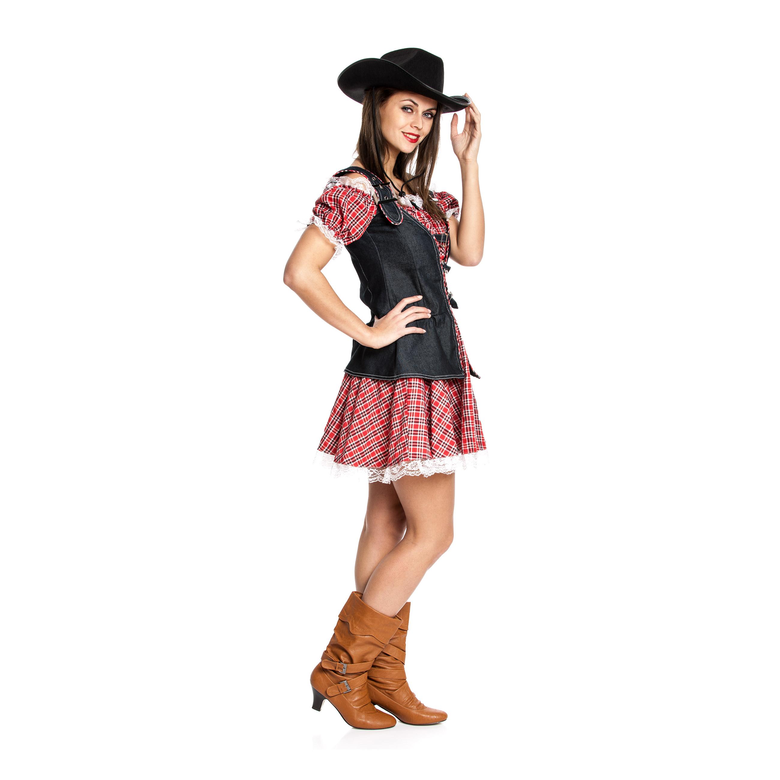 cowboy kost m damen sexy kleid karnevalskost m kost mplanet. Black Bedroom Furniture Sets. Home Design Ideas