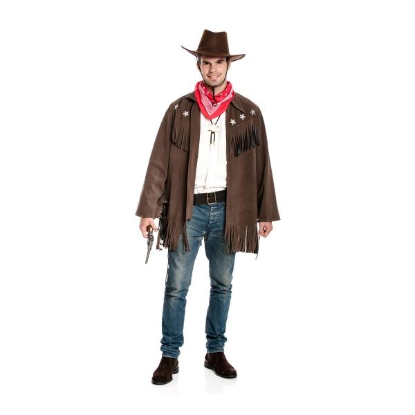 cowboy jacke herren mit halstuch g nstiges kost m kost mplanet