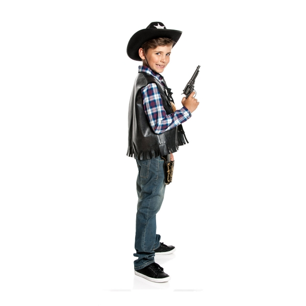 cowboy weste jungen kinderkost m wild west style kost mplanet. Black Bedroom Furniture Sets. Home Design Ideas
