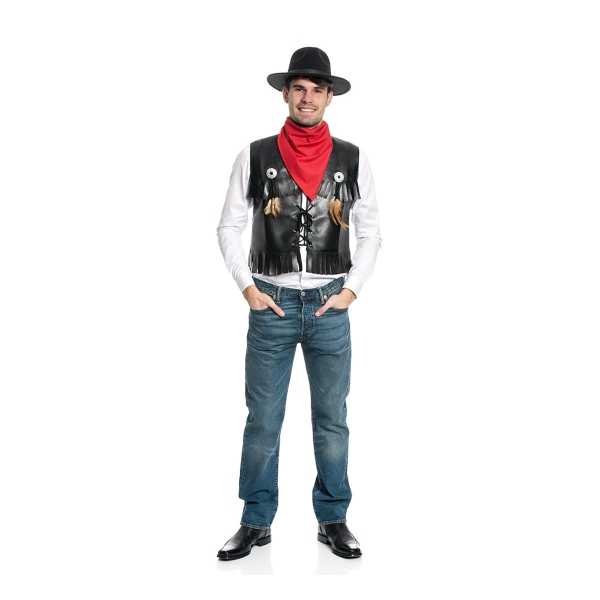 cowboy weste herren western kost m kost mplanet. Black Bedroom Furniture Sets. Home Design Ideas