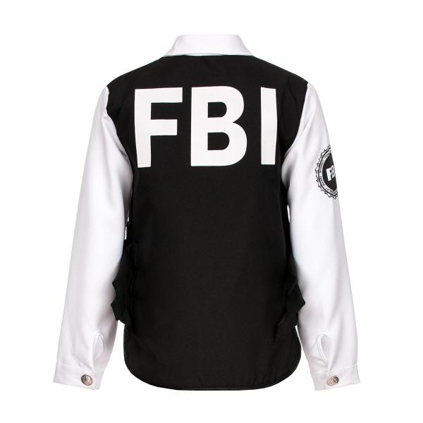 fbi kost m kinder jungen mit cap komplette verkleidung kost mplanet. Black Bedroom Furniture Sets. Home Design Ideas