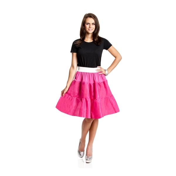 petticoat pink f r damen t ll rock rockabilly kost mplanet. Black Bedroom Furniture Sets. Home Design Ideas