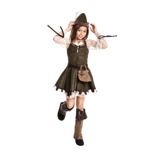 Robin Hood Kostüm Selber Machen : robin hood kost m kinder m dchen komplett mit m tze kost mplanet ~ Frokenaadalensverden.com Haus und Dekorationen