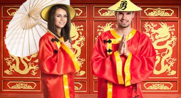 Chinesen Kostüme