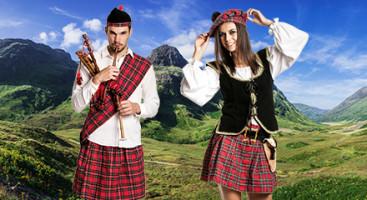 Schotten Kostüme