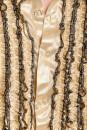Rüschenhemd Herren gold 56-58