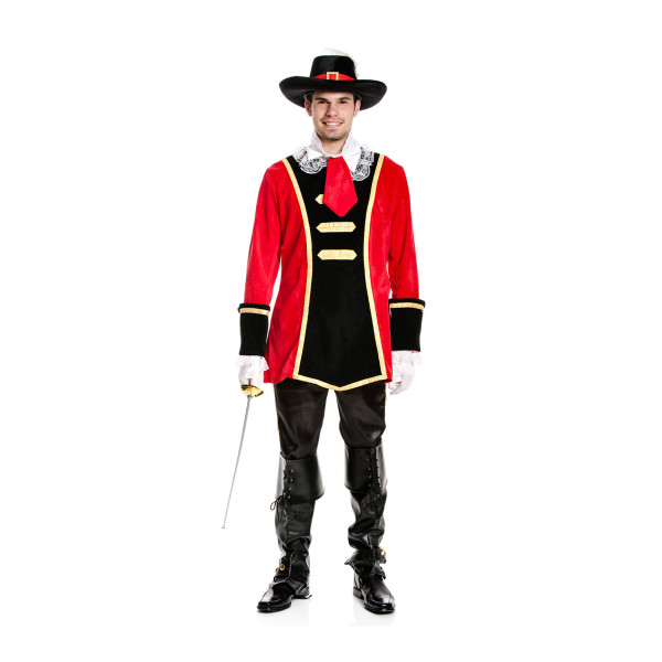 musketiere kostüm herren