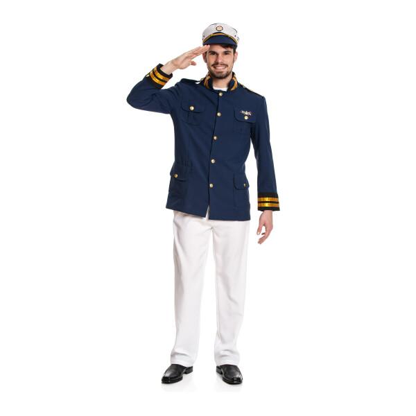 Kapitän Herren blau 52-54