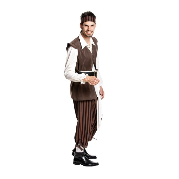 piraten herren kostüm komplett