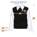 FBI Agent Jungen schwarz 128