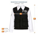 FBI Agent Jungen schwarz 140