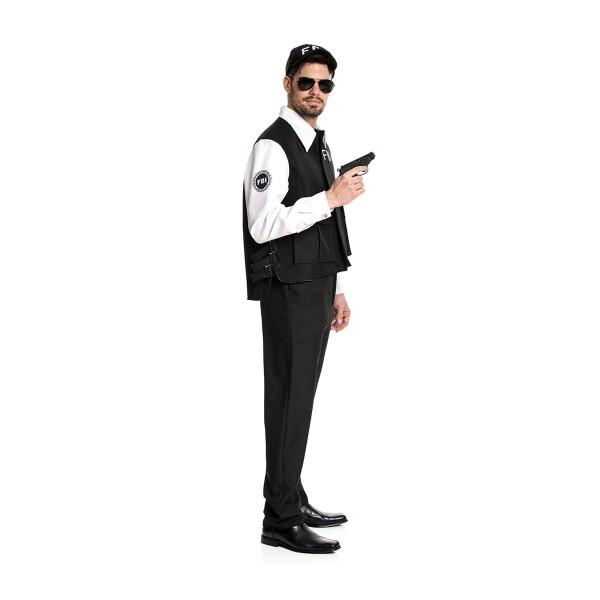 FBI Agent Herren schwarz 48-50
