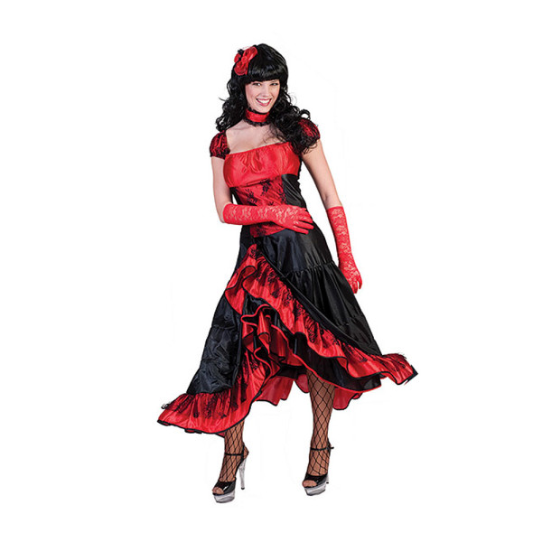 Saloon Girl Damen rot 36-38