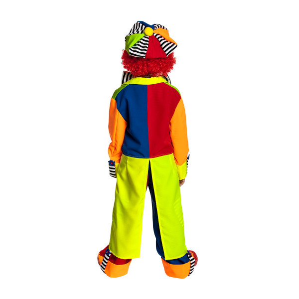 Clown Kostüm Kinder komplett