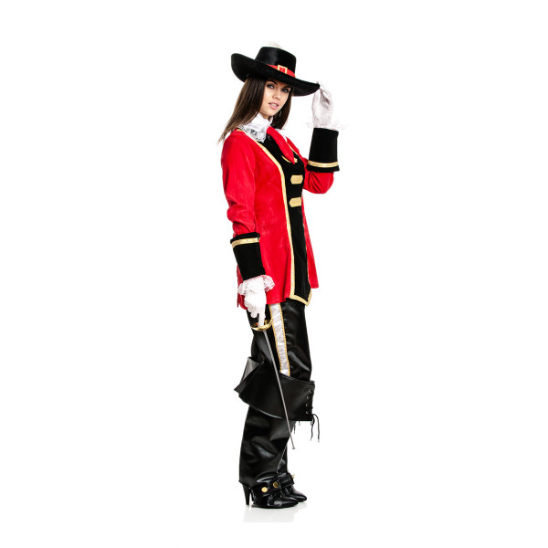 Musketier Damen rot 52-54
