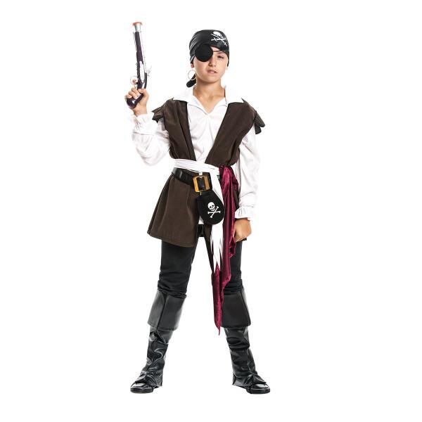 Pirat Jungen braun 104