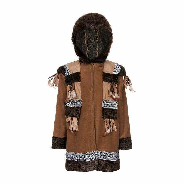 Eskimo Kinder braun 128