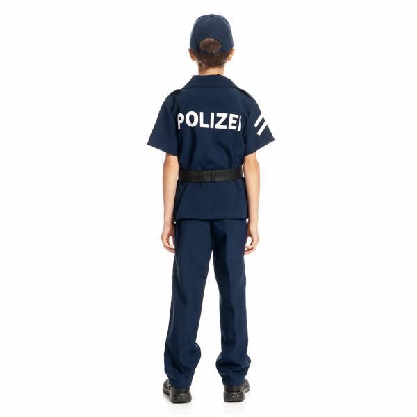 Polizei Kostum Kinder Komplett Mit Mutze Und Zubehor Kostumplanet