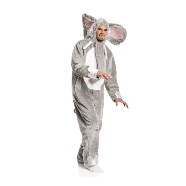elefant kostüm herren grau