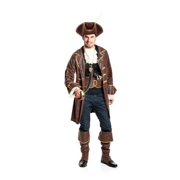 pirat herren braun