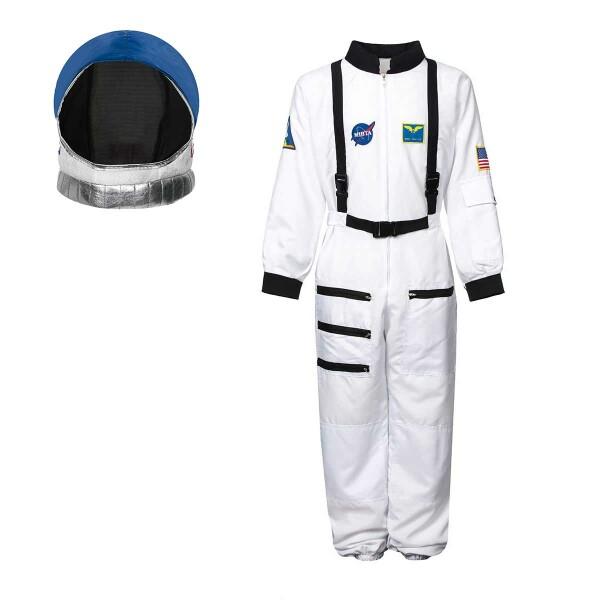 Astronauten Kostüm Kinder + Helm 140